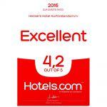 Auszeichnung Hotels.com 2016
