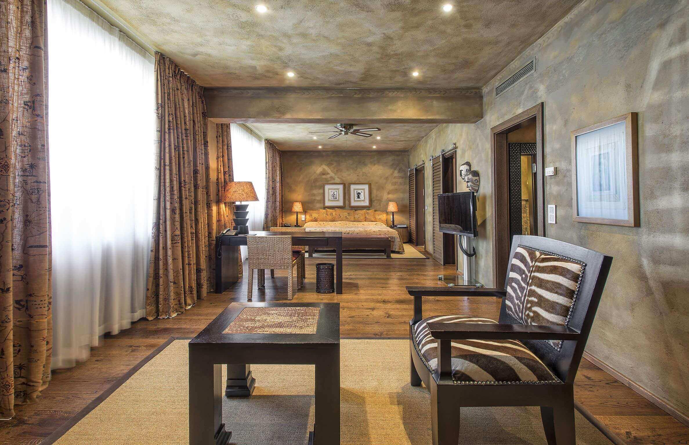 Luxus Kolonial-living Schema