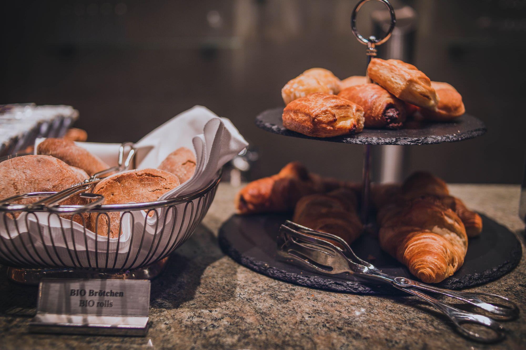 Frühstücksbuffet im Heckers Hotel / Breakfast at Heckers Hotel