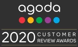agoda customer award für konstante Bewertung von 8,0 Punkten oder besser